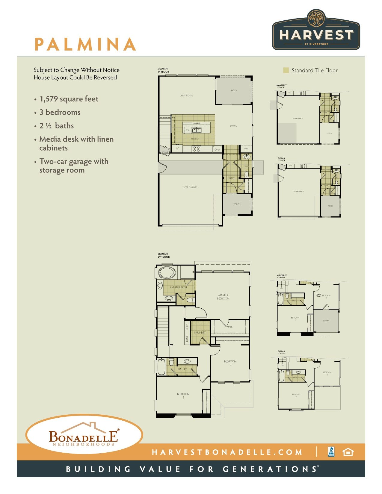 Palmina floor plan