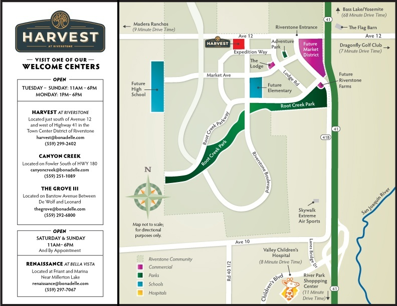 Harvest at Riverstone Map