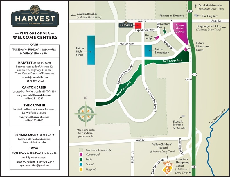 Welcome Center map