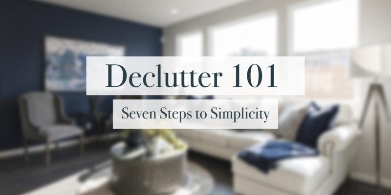 Declutter 101