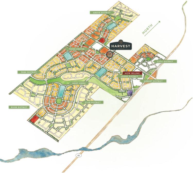 Harvest-Bonadelle-Riverstone-Map