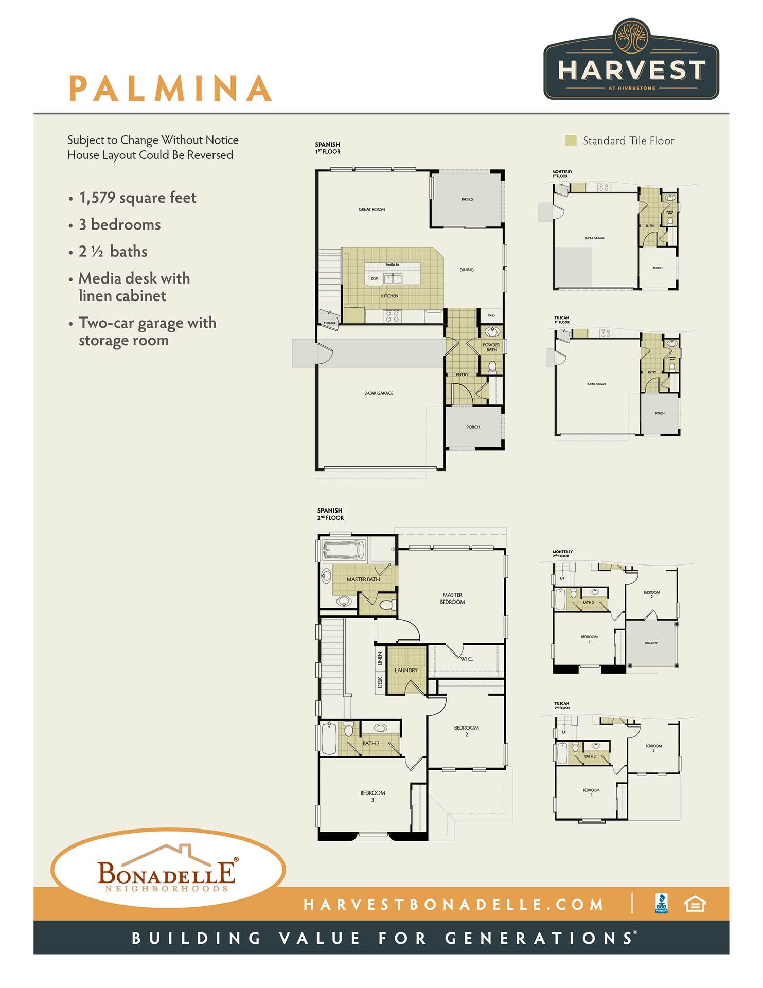 Palmina Floor Plan