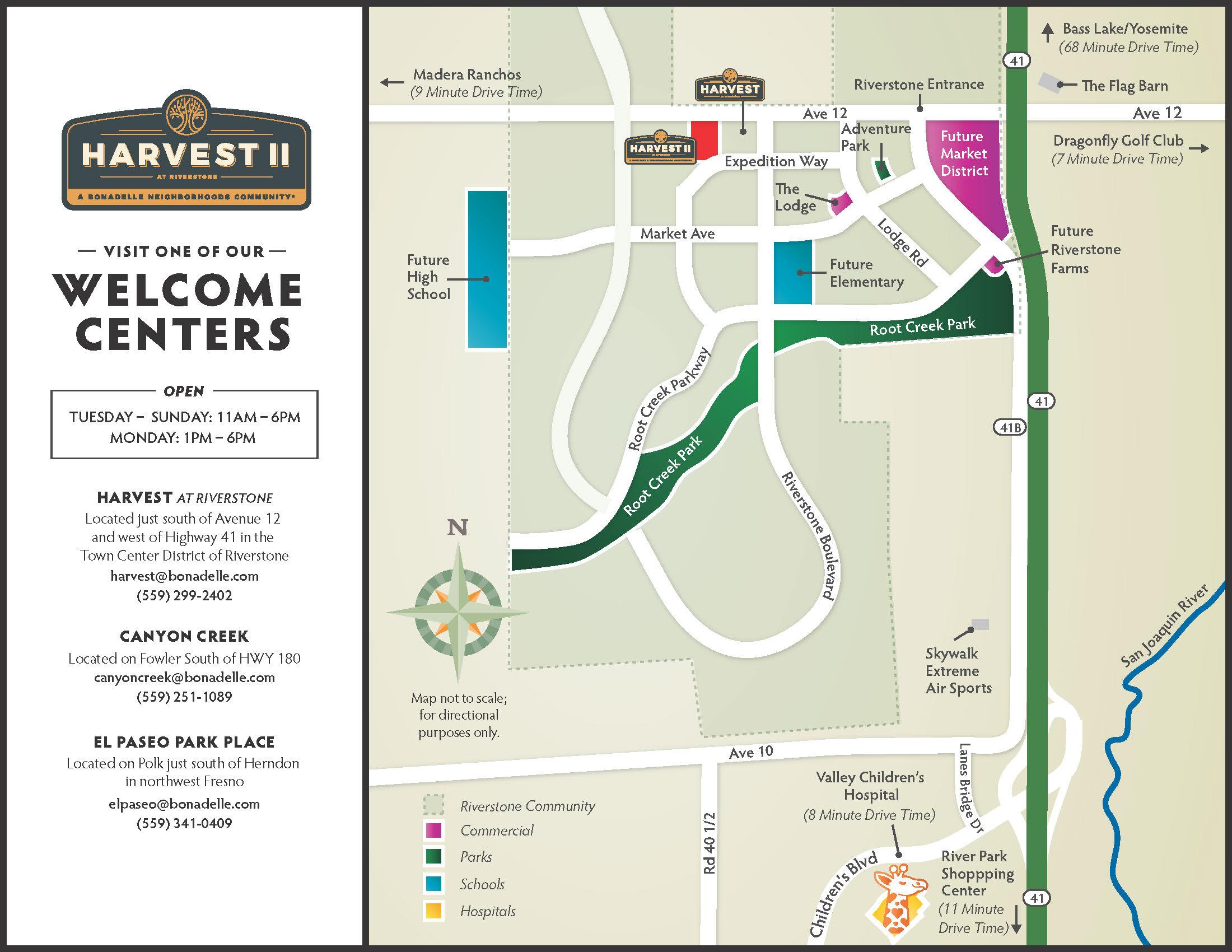 Harvest II Community Map